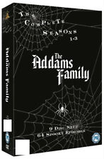 The Addams Family Seasons 1 to 3 Complete BOXSET UK DVD