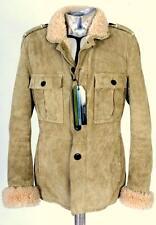 Yves Saint Laurent Shearling Peau De Mouton Veste En Cuir EU52 GRAND XL RRP £ 1640