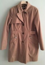 Dawn Levy House Of Fraser trench Coat mac Size 12 - 14