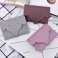 Fashion Elephants Shape PU Leather Coin Purse Wallet Pouch Mini Storage Bag t