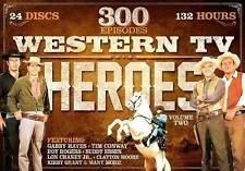 Western TV Heroes Volume 2 300 Episode 24 Discs 132 Hours DVD Collection