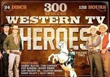 Western TV Heroes Volume 2 300 Episode 24 Discs 132 Hours DVD Collection