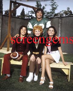 """Here's Lucy"" Lucille Ball rare photo TV Joe Namath NFL  football mint cond"
