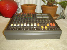 Tascam M-208, 8 Channel Analog Mixer Vintage, Quality Preamps & Eq, As Is/Repair