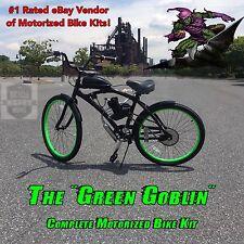 Motorized Aluminum Cruiser Bicycle - MoPed - Motor Bike - Do It Yourself & Save!