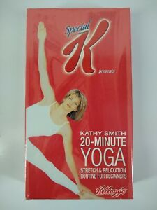 Special K Presents Kathy Smith 20-Minute Yoga VHS New Sealed
