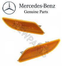 Mercedes R171 SLK280 SLK350 Pair Set of 2 Front Signal Side Marker Lights OES