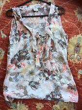 ESPRIT Summer Blouse Size 12 VGC
