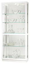 Howard Miller 680-574 (680574) Jayden IV Lighted Curio Cabinet - Gloss White