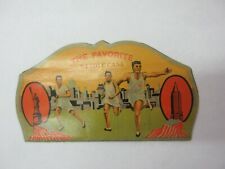 VINTAGE ADVERTISING  THE FAVORITE NEEDLE BOOK  COLLECTIBLE   S-791