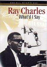 RAY CHARLES - WHAT'D I SAY - IN CONCERT (NEW SEALED DVD)