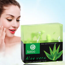 Face Soap Aloe Essence Facial Cleaning Skin Care Bath Body Removal Oil Control K