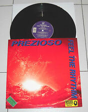"Lp PREZIOSO Feel the rhythm Of my love 33 giri 12"" FMA 1995"