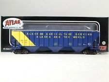 Brand New Atlas HO Scale State of Alaska Covered Hopper #20005463 #TOTES1