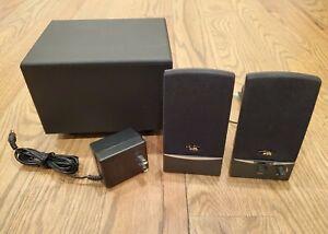 Cyber Acoustics 2.1 Black OEM 3 Pc Subwoofer System