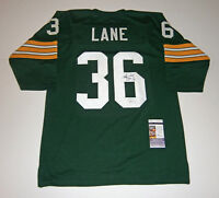PACKERS MacArthur Lane signed jersey w/ #36 AUTO Autographed JSA COA Green Bay