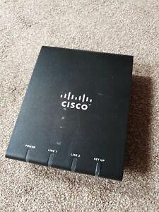 Cisco ATA187 Analog Telephone Adapter with No PSU