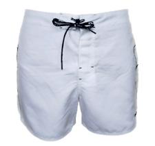 "Men`s FILA White Swim Shorts Size Large, 34"" Waist - NEW"