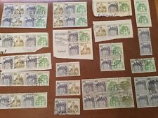Germany Stamps Zusammendrucke Lot 1971-82 used group 18 combinations & panes