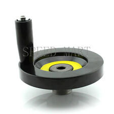 Speed Change 12 x 100mm Back Ripple Hand Wheel Lathe Milling CNC Machine screw