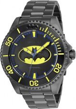 Invicta 26901 DC Comics Batman Men's 47mm Automatic Gunmetal-Tone Steel Watch