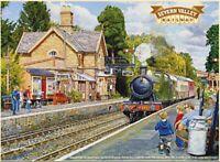 Severn Valley Eisenbahn Großes Schild aus Stahl 400mm x 300mm (Og)