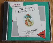 Commodore cdtv The Tale of Benjamin Bunny-discis (Amiga, 1991, Jewel-Case)