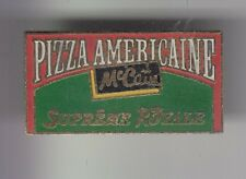 RARE PINS PIN'S ..  ALIMENT FOOD MC CAIN FRANCE PIZZA AMERICAINE ROYALE ~DQ