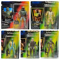 (Loose, 100% Comp.) '95-'97 Kenner Power of the Force Star Wars 5 Bounty Hunters