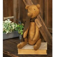 """New Primitive Grungy Rustic Country Vintage ANTIQUE STYLE TEDDY BEAR Doll 19"""""""