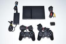 Sony PlayStation 2 Slimline + 2x original Controller