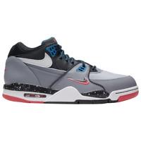 Brand New Men's Nike Air Flight '89 Athletic Basketball Sneakers | Grey & White