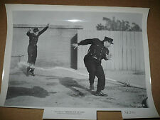 FIREMAN SAVE MY CHILD, orig b/w [Buddy Hackett evades spraying firehose] 1754-8