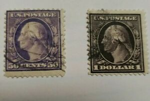 United States Stamps Scott#341, 342 - Used