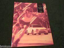 NEW 1994 MAZDA MX-3 SPORTS COUPE SALES BROCHURE MINT ORIGINAL (BOX 690)