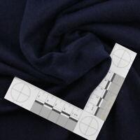 0,5m Fleece Stoff Blau Polarfleece leicht Meterware Jackenfutter antipilling