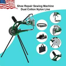Shoe Repair Machine Dual Cotton Nylon Line Making Sewing Cobbler DIY Hand Manual