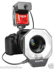 Bower SFD14N Digital Macro CloseUp RingLight Flash f/ Nikon i-TTL DSLR  Camera