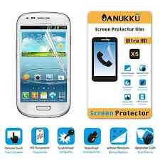 3x PELLICOLA per Samsung S3 Mini I8190 FRONTE + PANNO PROTETTIVA DISPLAY