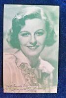 MAGARET SULLIVAN Arcade Exhibit Card 1940's RARE ARCADE CARD
