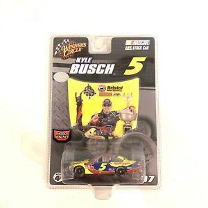 2007 #5 Kyle Busch Carquest Bristol 1st COT Win 1:64 Winner's Circle Nascar