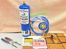 410A, R410a, R-410a, Refrigerant Refill Kit Gauge Charging Hose Instructions A3