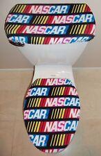 NASCAR Stock Car Racing Toilet Seat Cover Set Bathroom Accessories