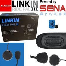 LS2 Linkin Ride Pal III Bluetooth Kommunikationssystem - Schwarz