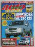 AUTO VERTE  4X4 N° 227 / MERCEDES ML 270 CDI/ V6 PAJERO-FRONTERA/ RAV4 2000