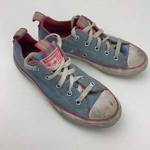 Converse Chuck Taylor All Star Low Kids Girls Size 1 Blue 670405F