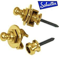 NEW - Genuine Schaller 447 Gold Strap Lock System