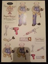 Paper nation Decoupage - Handyman  man senior