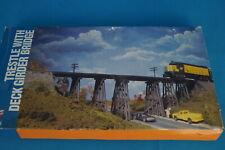 Cornerstone 933-3147 Trestle with Deck Girder Bridge HO Scale