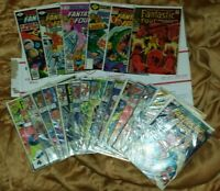 Fantastic Four Marvel Comic Book Lot of 21. G-FN range. 12 cents to 75 cents!